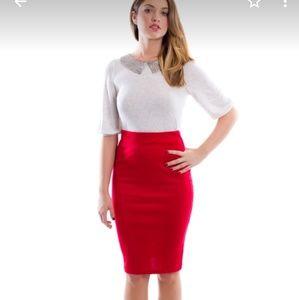 Midi skirt size L.